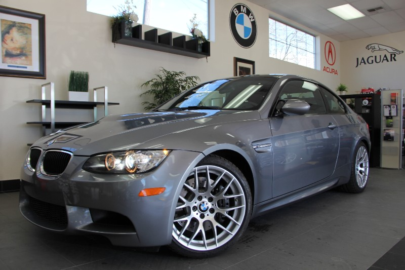 2012 BMW M3 M3 2dr Coupe Competition PKG Manual Gray Black This beautiful 1 Owner M3 is in li