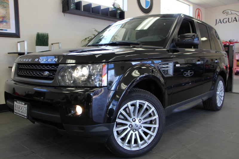 2011 Land Rover Range Rover Sport HSE 4x4 4dr SUV Automatic Black Black This is a fully equippe