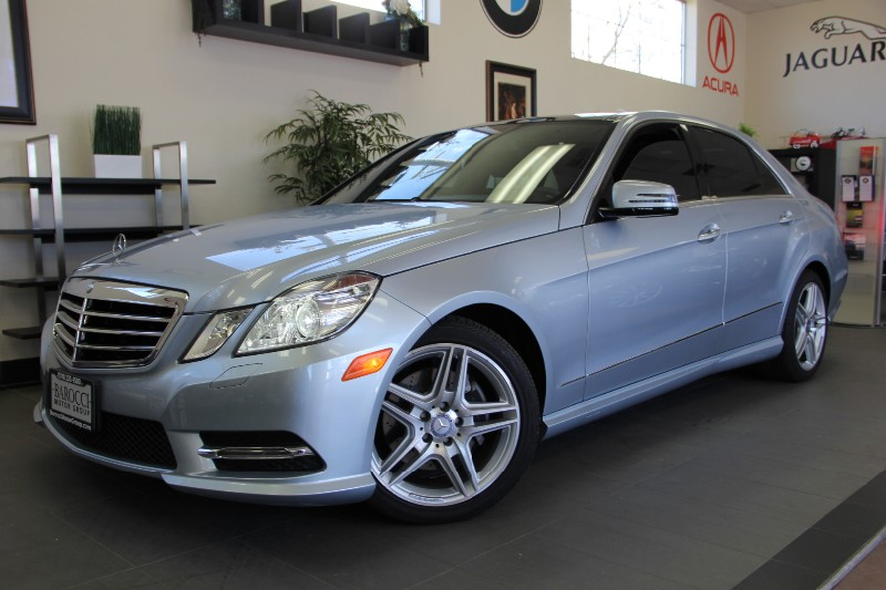 2013 MERCEDES E-Class E350 SportPanaramic Roof Automatic Silver Black Comes with the Premium