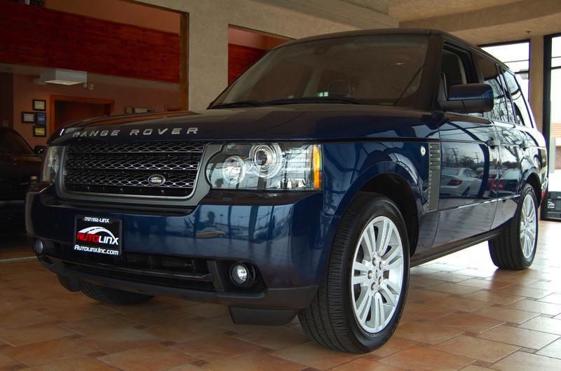 2011 Land Rover Range Rover HSE 4x4  LUXURY Automatic Blue Brown Leather 4 Wheel Drive GPS Na
