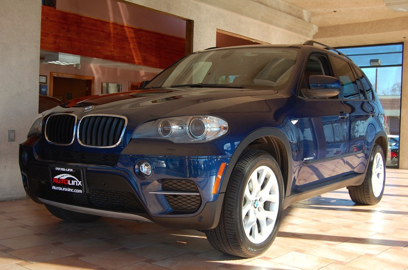 2012 BMW X5 xDrive35i AWD  4dr SUV 8 Speed Auto Blue Brown Brown Turbocharged All Wheel Drive