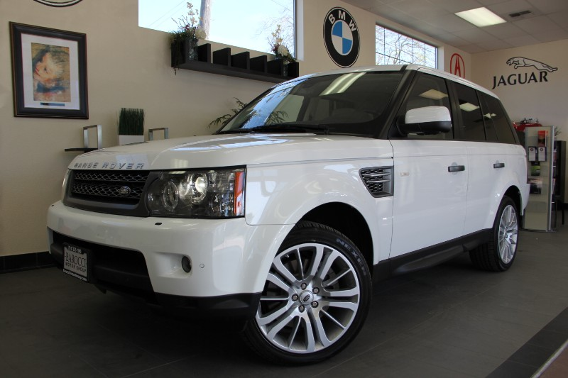 2011 Land Rover Range Rover Sport HSE LUX 4x4 Automatic White Tan Beautiful Luxury Edition mode