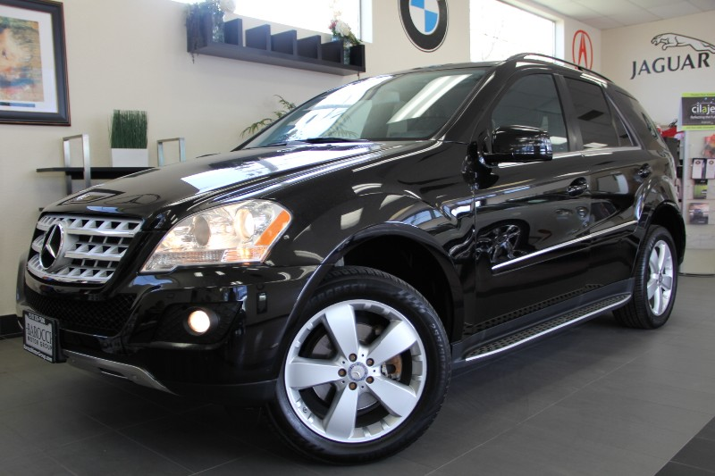 2011 MERCEDES M-Class ML350 4dr SUV Automatic Black Black Navigation Satellite Radio Backup C