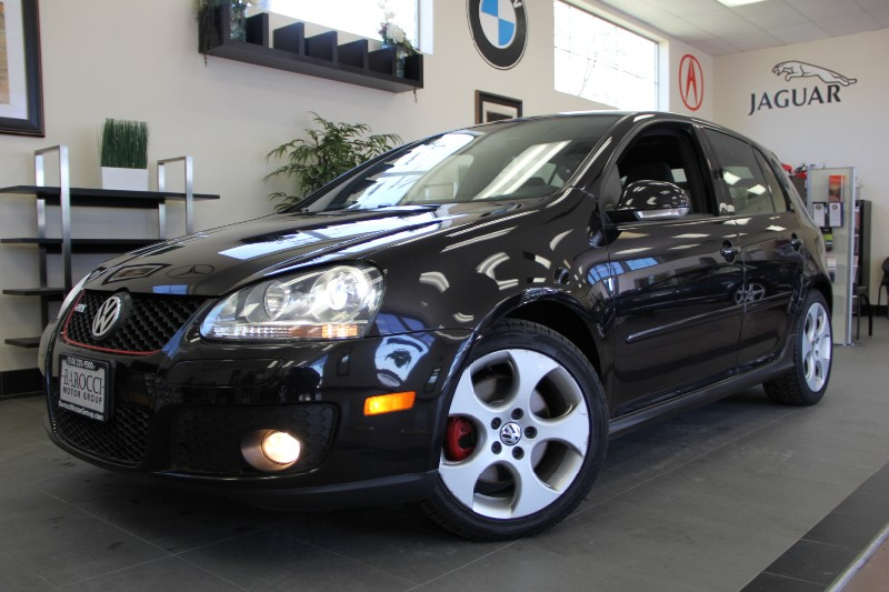 2008 Volkswagen GTI 4dr Hatchback 6A Turbo Automatic Black Gray This Car is very clean has be