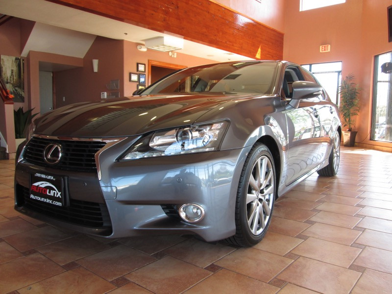 2013 Lexus GS 350 RWD 6-Speed Automatic Gray Black Accident free Carfax History and One Owner