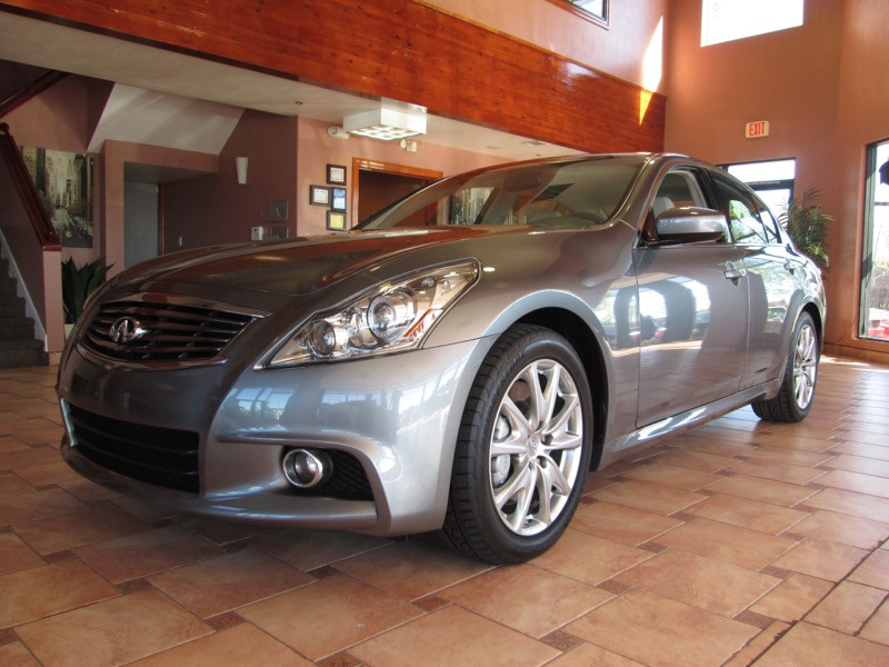 2011 Infiniti G37S Sport 4D Sedan Automatic Gray Gray Leather STOP Read this Join us at Auto