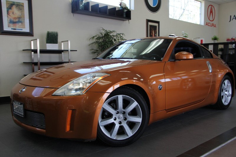 2005 Nissan 350Z Touring 2dr Hatchback Automatic Orange Black Very Clean Car  Great Deal  Ama