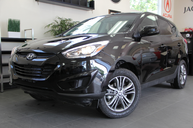 2014 Hyundai Tucson GLS AWD  4dr SUV 6 Speed Auto Black Air Conditioning Alarm Power Steering
