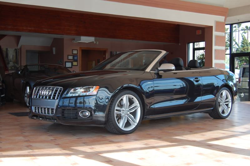 2010 Audi S5 Conv Prestige Automatic Black Black Locally traded ABS brakes AM FM radio  SIRIU