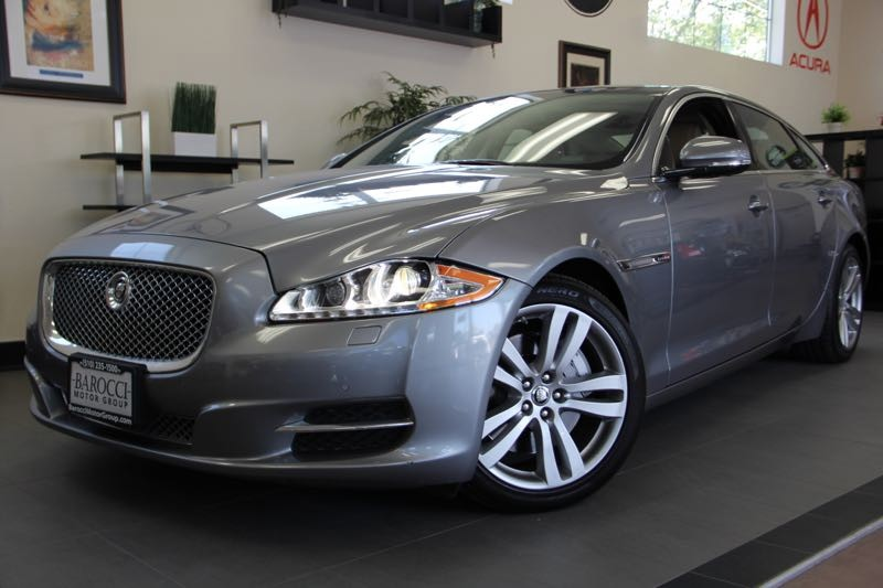 2011 Jaguar XJL Base 4dr Sedan 6 Speed Auto Gray Navigation Panorama Roof Parking Sensor Chil