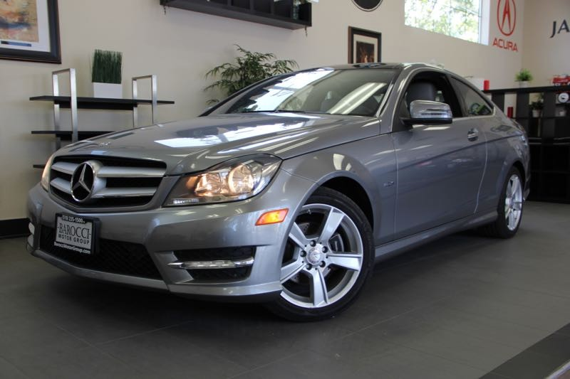 2012 MERCEDES C-Class C250 2dr CoupeNaviga 7 Speed Auto Silver Power Door Locks Vehicle Anti-T