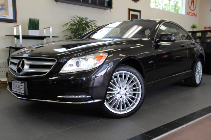 2012 MERCEDES CL-Class CL550 4MATIC AWD  2dr Coupe 7 Speed Auto Black ABS Air Conditioning Ala