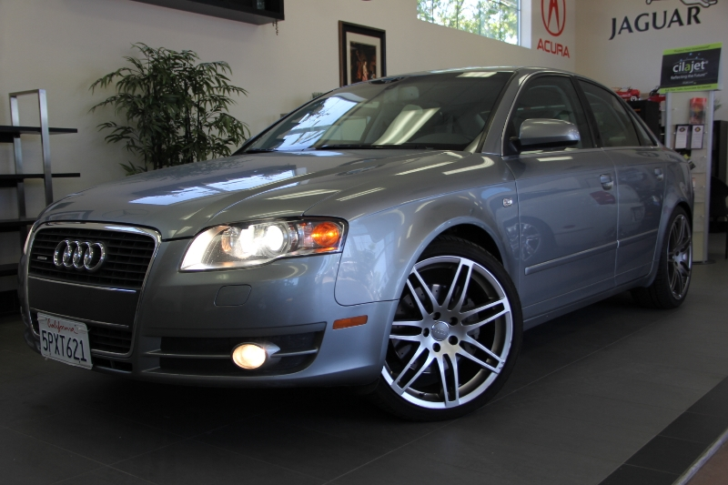 2005 Audi A4 32 quattro AWD 4dr Sedan 6 Speed Auto Gray Tan ABS Air Conditioning Alarm Allo