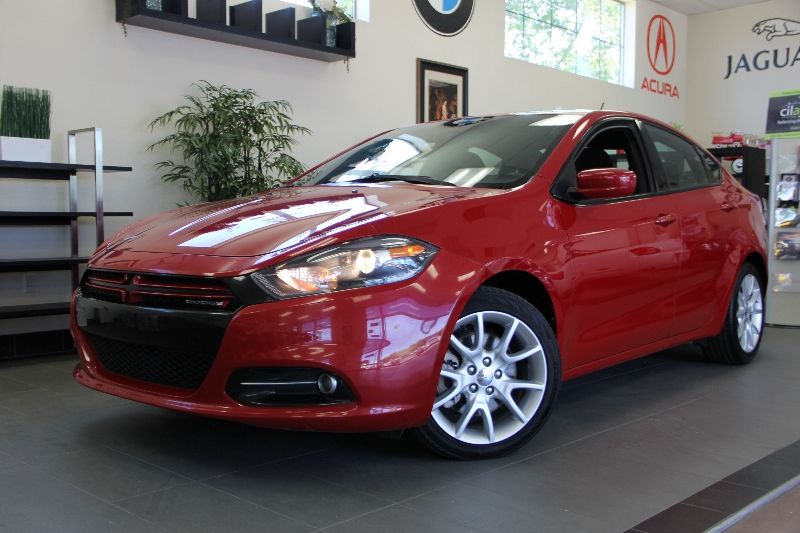 2013 Dodge Dart RALLY Rally 4dr Sedan 6 Speed Manual Red Charcoal This is a beautiful vehicle i