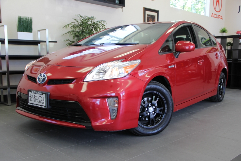 2012 Toyota Prius Two 4dr Hatchback Automatic Red Gray This is a fantastic vehicle that gets gr