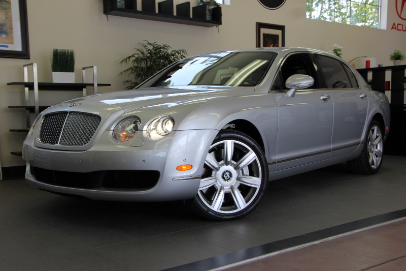 2006 Bentley Continental Flying S 4dr Sedan AWD 6 Speed Auto Silver Black Hydraulic Suspension