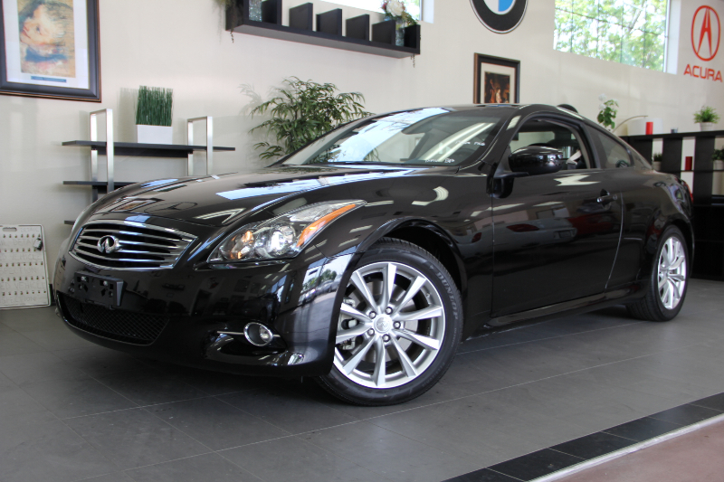 2012 Infiniti G37 Coupe 2dr Premium Package 7 Speed Auto Black Black Beautiful coupe with a ton
