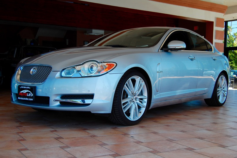 2011 Jaguar XF-SC XF Portfolio 6-Speed Automatic Silver Black Black Leather GPS Nav Superchar
