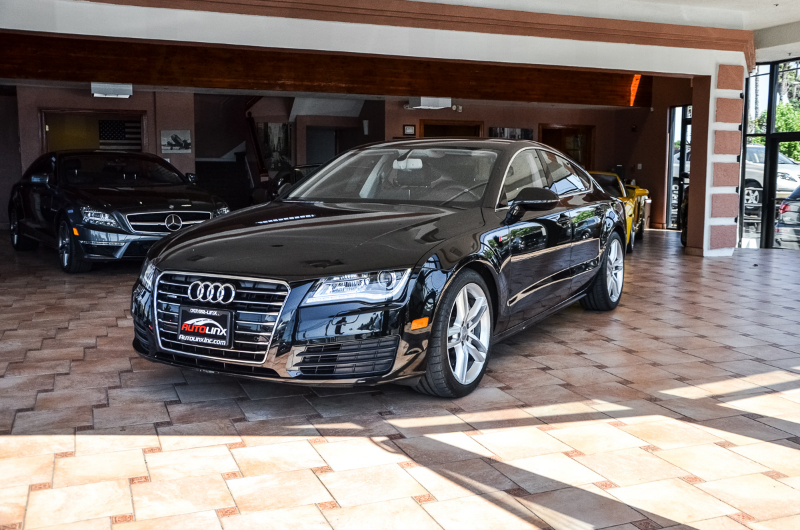2012 Audi A7 30T quattro  AWD Automatic Black Black Accident free Carfax History One Owner a