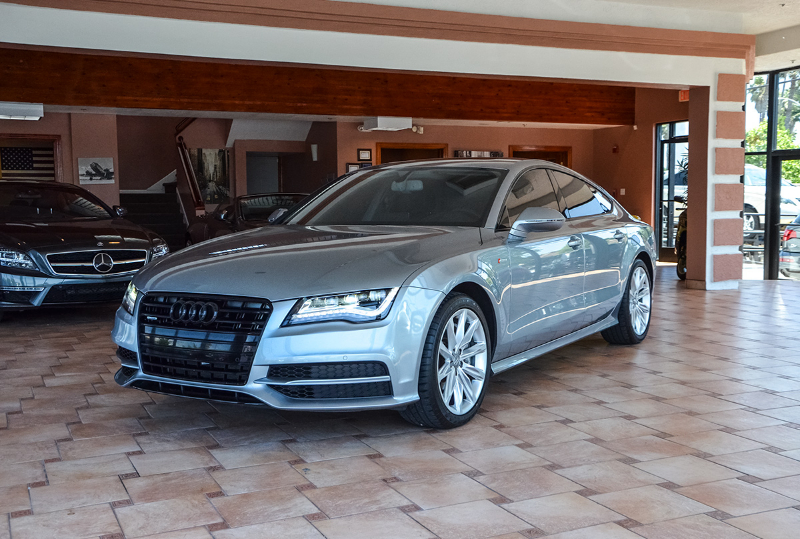 2012 Audi A7 30T quattro Prestig AWD 8 Speed Auto Gray Black Navigation Accident free Carfax