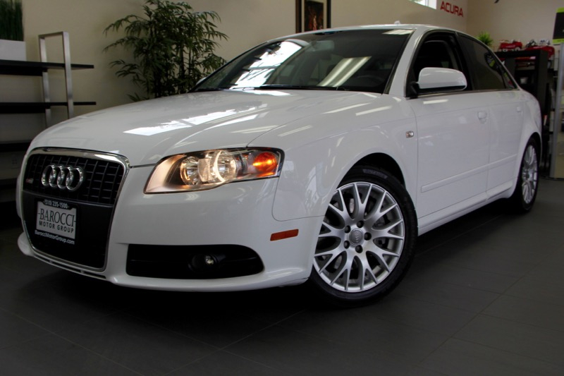 2008 Audi A4 20T S-Line 6 Speed Manual White Black This is a beautiful vehicle in great condit