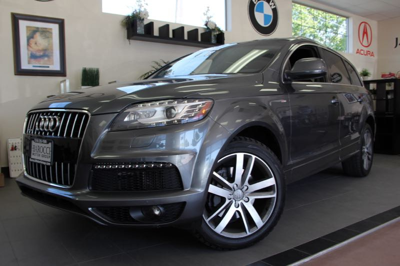 2012 Audi Q7 30 quattro TDI S-Line 8 Speed Auto Gray Black This is a beautiful vehicle in grea