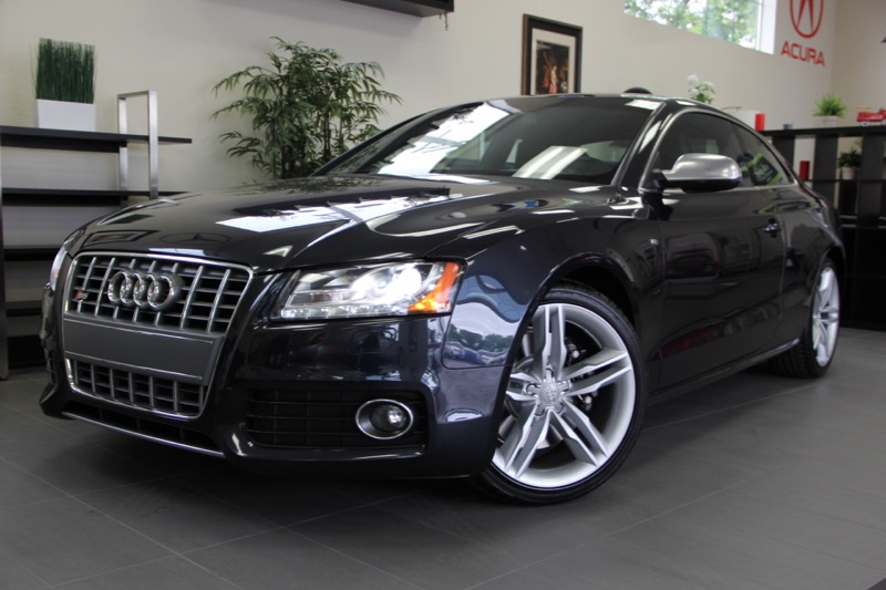 2012 Audi S5 42 quattro Prestige AWD  2dr Coupe 6 Speed Auto Blue Black Includes Parking Camer