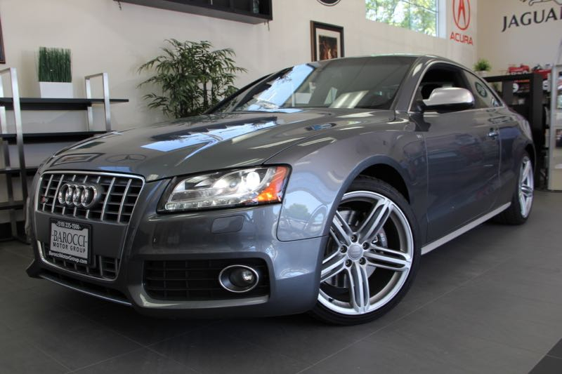 2012 Audi S5 42 quattro Premium AWD  2dr Coupe 6 Speed Auto Gray Black This is a beautiful Aud
