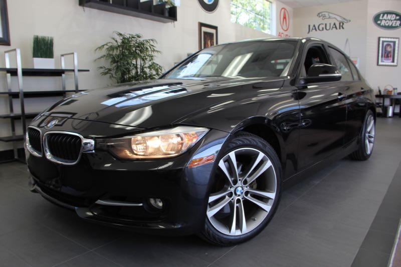 2012 BMW 3 Series 328i 4dr Sedan SA Automatic Black ABS Air Conditioning Alarm Alloy Wheels
