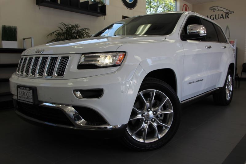 2014 Jeep Grand Cherokee Summit 4x4  4dr SUV 8 Speed Auto White Black Awesome Summit edition Gr
