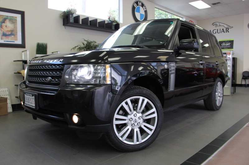 2011 Land Rover Range Rover HSE 4x4  4dr SUV 6 Speed Auto Black Engine 5 0L Veight-cylinder DOHC