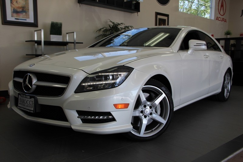 2013 MERCEDES CLS-Class CLS550 4dr Sedan 7 Speed Auto White 4-wheel Disc Brakes ABS Active Sus