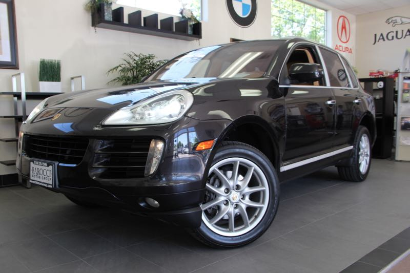 2009 Porsche Cayenne Base SUV 4dr AWD 6 Speed Man Black Navigation Child Safety Door Locks Po