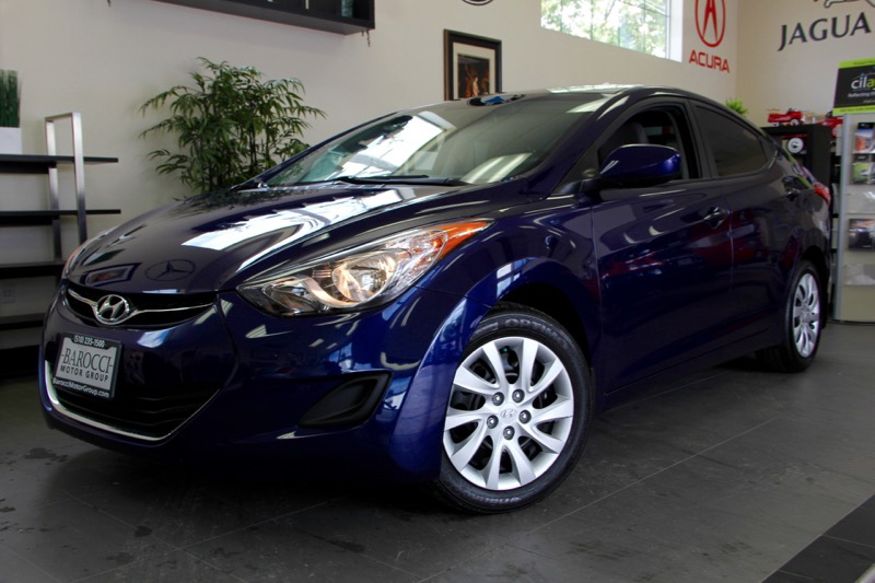 2012 Hyundai Elantra GLS 4dr Sedan Automatic Blue This is a beautiful vehicle in great condition