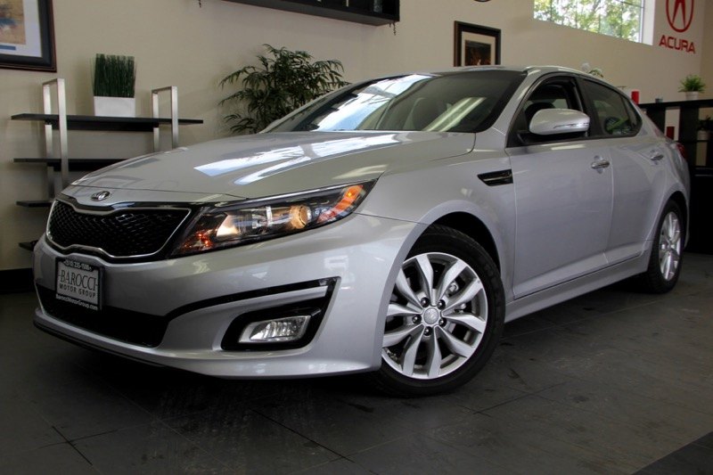 2014 Kia Optima LX 4dr Sedan 6 Speed Auto Silver Great car that comes with a fuel effecient 192