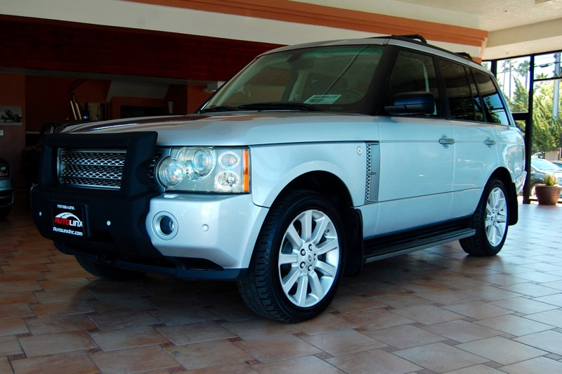 2007 Land Rover Range Rover Supercharged 6-Speed Automatic Silver Black Leather Nice SUV Call