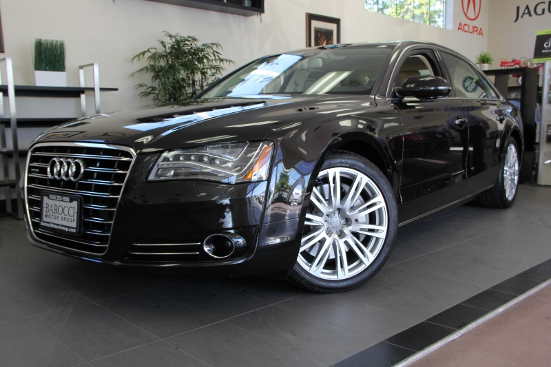 2012 Audi A8 L quattro AWD  4dr Sedan 8 Speed Auto Brown Tan One owner California vehicle just