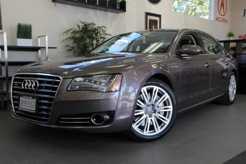 2013 Audi A8 40T LWB quattro AWD  4dr Sedan 8 Speed Auto Dk Brown This is a beautiful vehicle