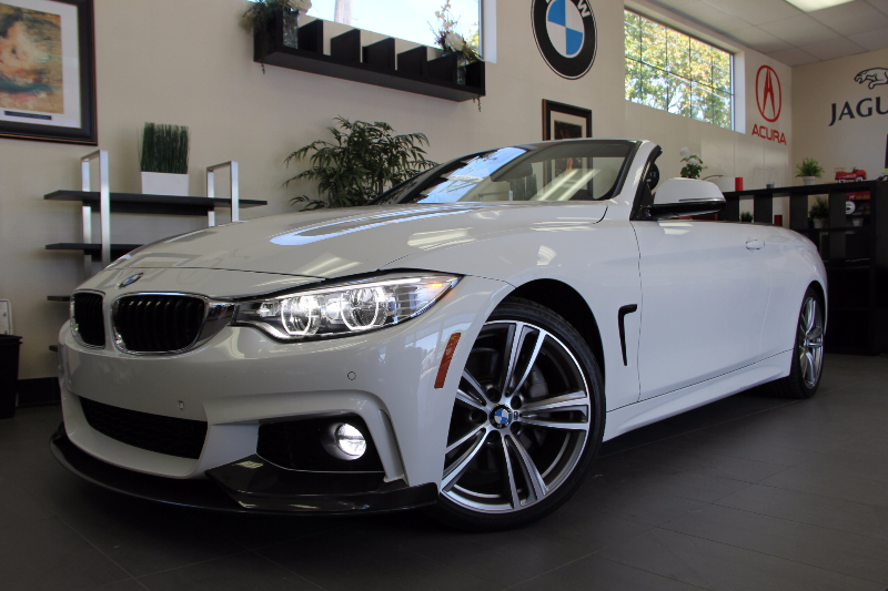 2014 BMW 435i M Automatic White Red This is a beautiful vehicle in great condition inside and o
