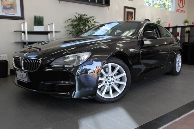 2012 BMW 6 Series 640i 2dr Coupe 8 Speed Auto Black Black This is a beautiful vehicle in great