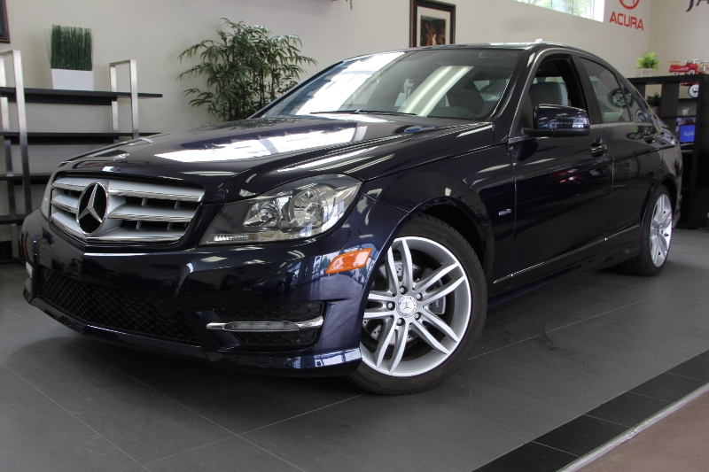 2012 MERCEDES C-Class C250 Luxury 4dr Sedan 7 Speed Auto Blue Comes with some great options like