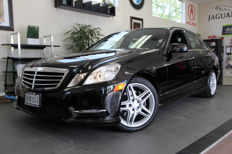 2013 MERCEDES E-Class E350 Luxury 4dr Sedan 7 Speed Auto Black Black Comes with the Premium Har