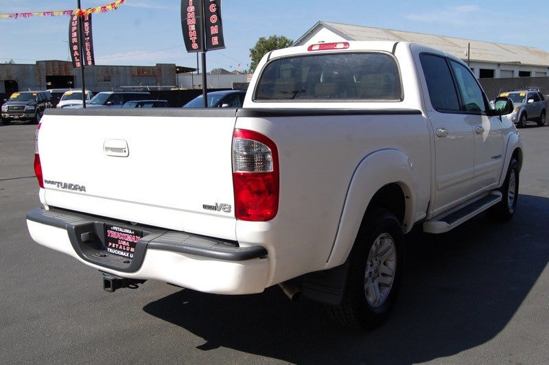 2006 Toyota Tundra Limited Double Cab 5-Speed Automatic White Tan Child Safety Door Locks Lock