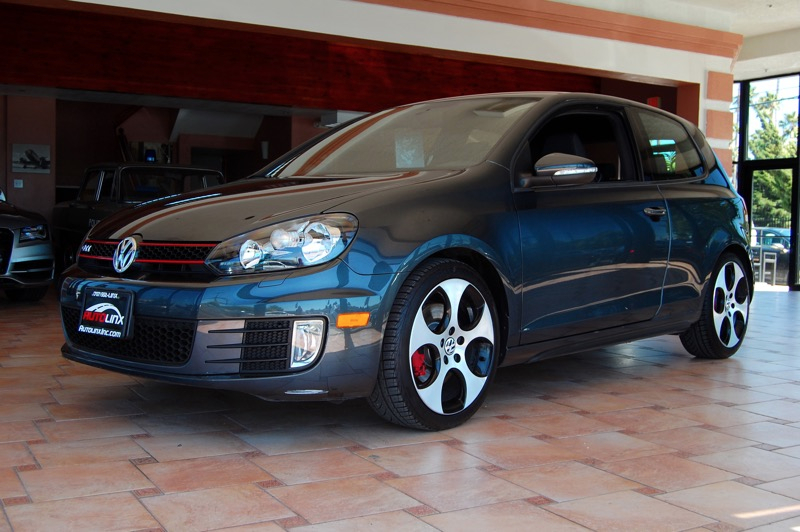 2012 Volkswagen GTI 20T Coupe PZEV 6-Speed Manual Gray Gray 6 speed manual Turbocharged Come