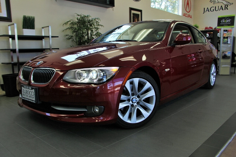 2012 BMW 3 Series 328i 2dr Coupe SULEV Automatic Red ABS Air Conditioning Alarm Alloy Wheels