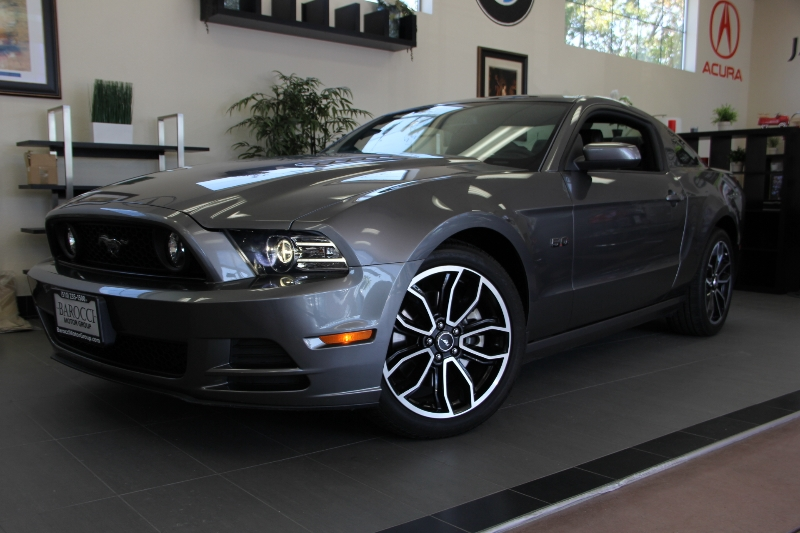2014 Ford Mustang GT 2dr Coupe  6-Speed Manual Gray Black This is a fantastic Coupe with the 6