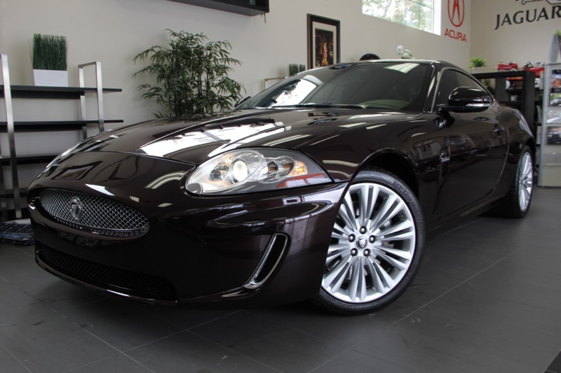 2011 Jaguar XK Base 2dr Coupe 6 Speed Auto Purple ONE OWNER VEHICLE SERVICE RECORD LIKE NEW U