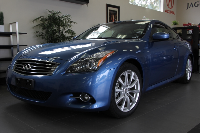 2013 Infiniti G37 Coupe Journey 2dr Coupe 7 Speed Auto Blue Tan Comes with a ton of features in
