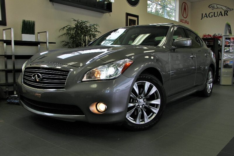 2012 Infiniti M37 Base 4dr Sedan 7 Speed Auto Silver ABS Air Conditioning Alarm Alloy Wheels