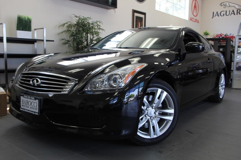 2010 Infiniti G37 Coupe 2dr Coupe 7 Speed Auto Black Black Comes with a ton of features includi